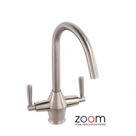 Zoom ZP1042 Taura Double Lever Chrome Mixer Tap
