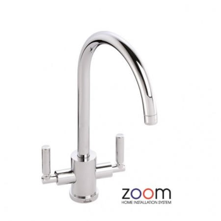 Zoom ZP1044 Atlas Twin Lever Monobloc Chrome Tap