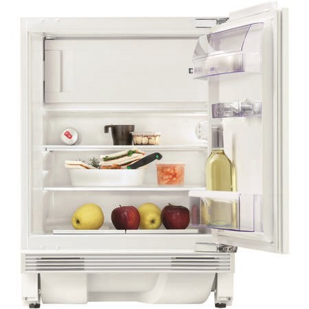 Zanussi ZQA12430DV Built-under Fridge With 4 Star Freezer Compartment - Door-on-door