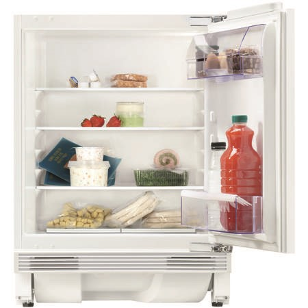 Zanussi ZQA14031DV Built-under Larder Fridge - Door-on-door  82cm Height