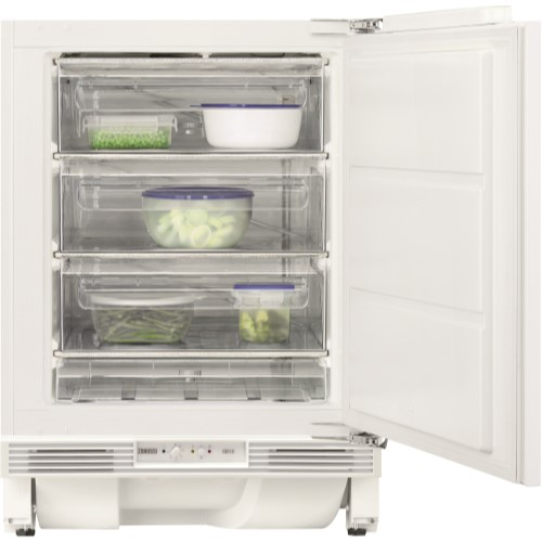Zanussi ZQF11431DA 82x60cm 98L Integrated Under Counter Freezer