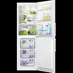 Zanussi ZRB35426WA 185x60cm Freestanding Fridge Freezer White