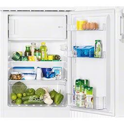Zanussi ZRG14800WA 85x60cm Freestanding Under Counter Fridge With Icebox White