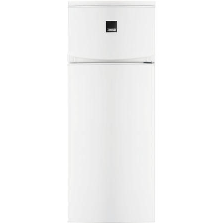 Zanussi ZRT23103WA 140x55cm Top Mount Freestanding Fridge Freezer White