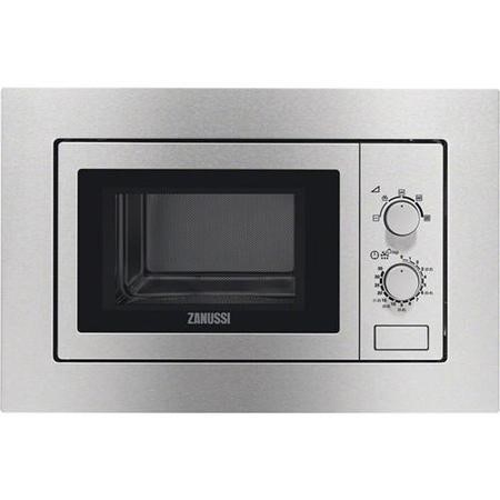 Zanussi ZSM17100XA Built-in Standard Microwave in  Antifingerprint Stainless Steel