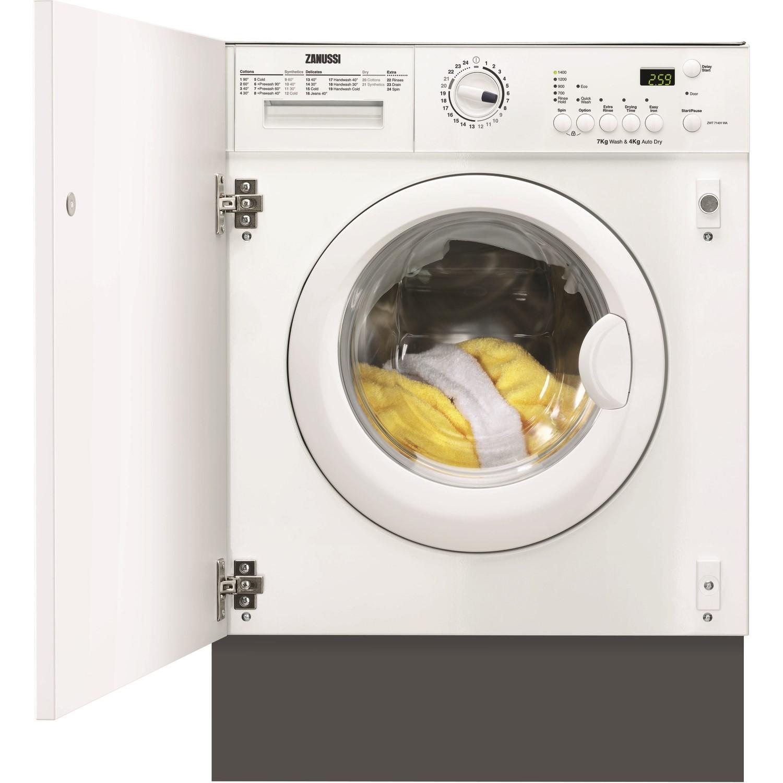 zanussi zwt7142wa 7kg wash 4kg dry integrated washer dryer rh appliancesdirect co uk