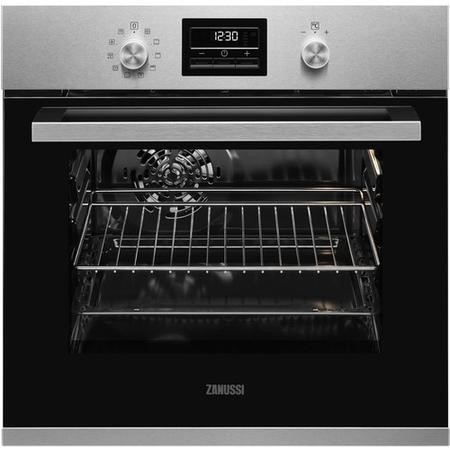 Zanussi ZZP35901XK 10 Function Electric Built-in Single Oven - Anti-fingerprint Stainless Steel