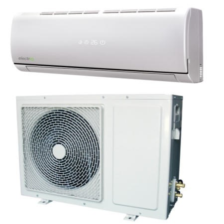 electriQ 18000 BTU Hitachi Powered Wall Mounted Split Air Conditioner with Heat Pump 5 meters pipe kit and 5