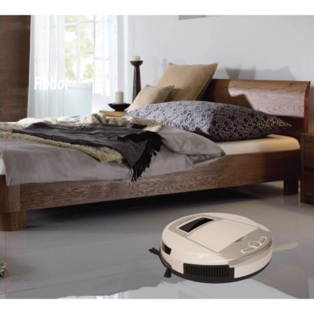 ElectriQ eIQ-RBV10 Robot Vacuum Cleaner Anti Allergy HEPA great for Carpet and Hard Floors with stairs sensor