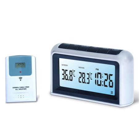 Atomic MSF Radio controlled LCD weather station