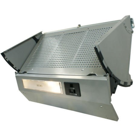 electriQ 60cm Fully Integrated Cooker Hood Grey -  5 Year Warranty