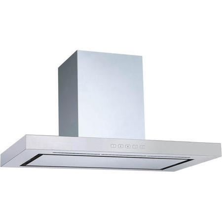 electriQ Slimline Stainless Steel 90cm Chimney Cooker Hood  - Now with 5 Years Warranty