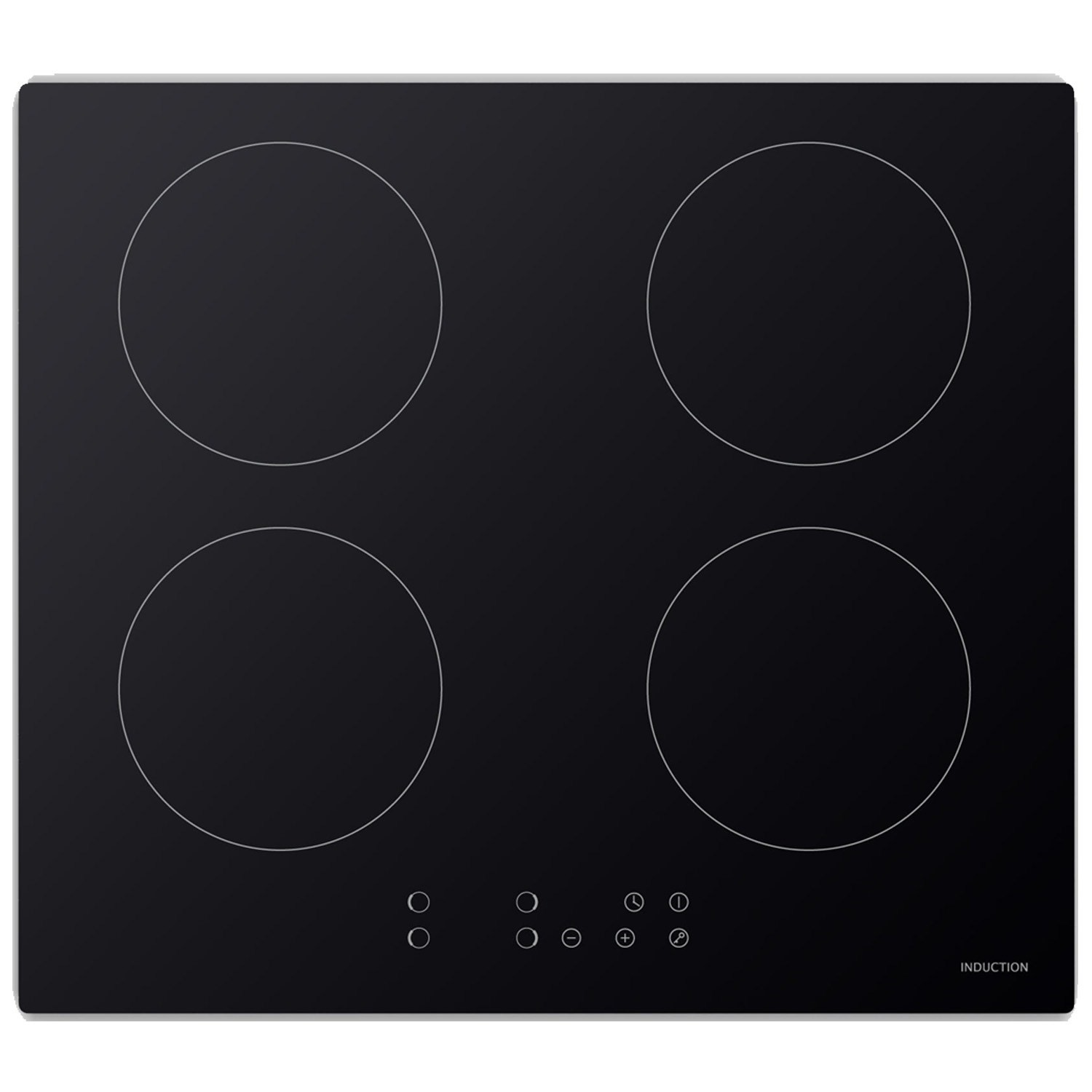 Electriq 60cm 4 Zone Induction Touch Control Hob