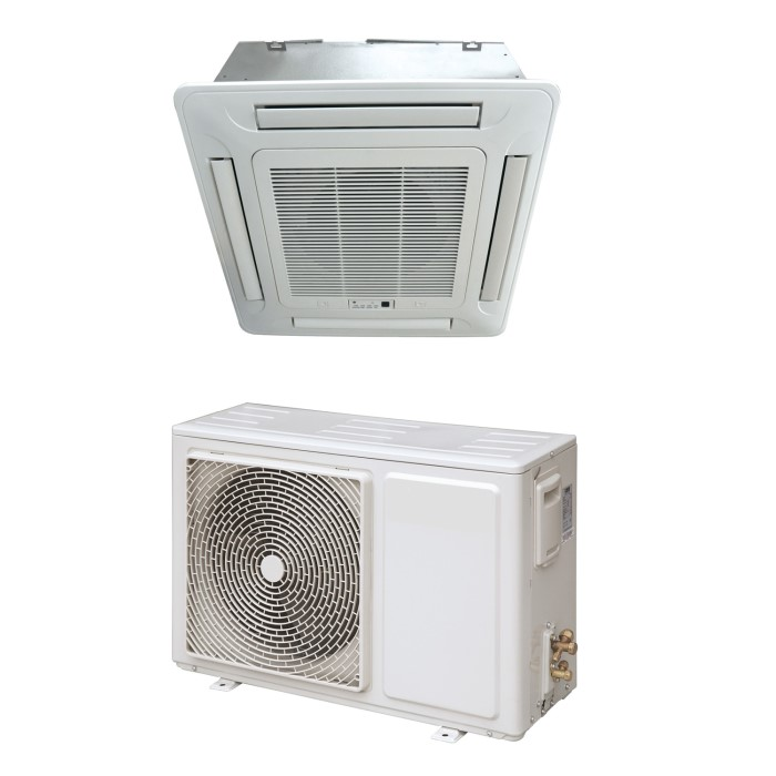 pump split mounted heat air sale conditioner office ducted ceiling
