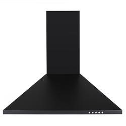 electriQ 60cm Traditional Black Chimney Cooker Hood - Now with 5 Years Warranty