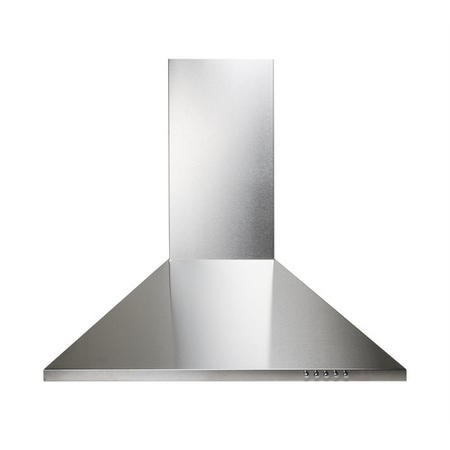electriQ 60cm Traditional Stainless Steel Chimney Cooker Hood  - Now with 5 Years Warranty