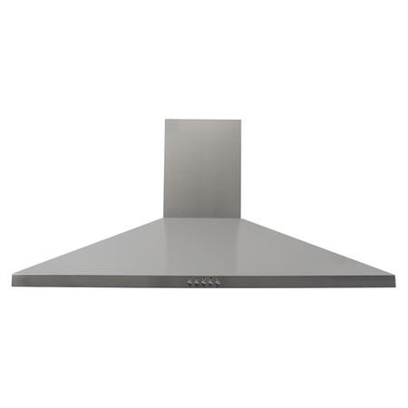 electriQ 90cm Traditional Stainless Steel Chimney Cooker Hood - 5 Year Warranty