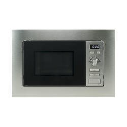 GRADE A1 - electriQ Built-in 17L Cupboard Fit Microwave Oven