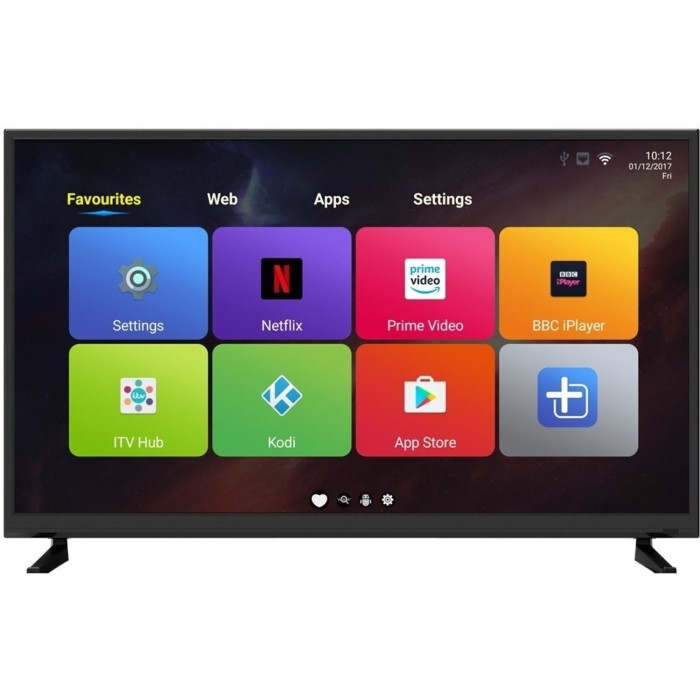 electriq 40 1080p full hd led android smart tv with freeview hd eiq