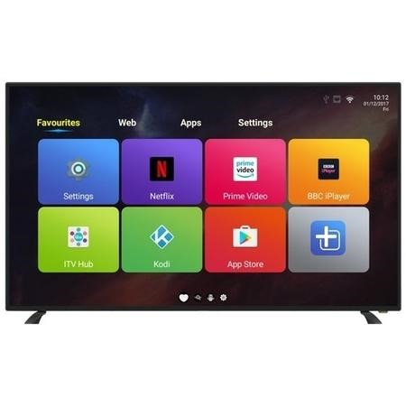 "electriQ 49"" 1080p Full HD LED Android Smart TV with Freeview HD"