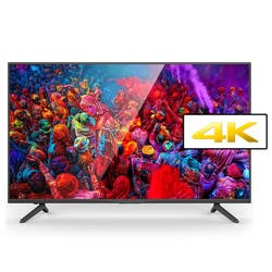 electriQ 49 Inch 4K Ultra HD LED TV with Freeview HD USB Media Player and PVR - with LG 4K Panel