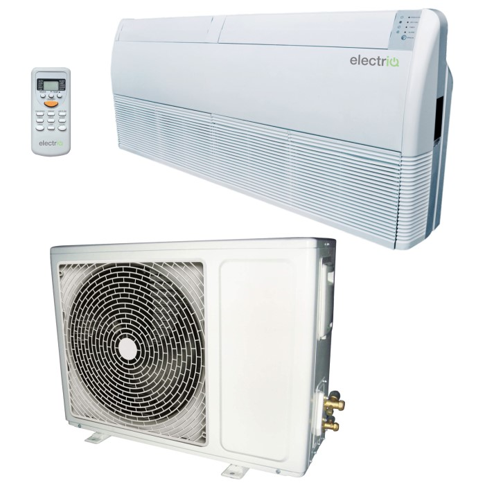 18000 BTU 5 3kW Floor Ceiling Wall mounted Air Conditioner - with Heat Pump  and 5 Year Warranty