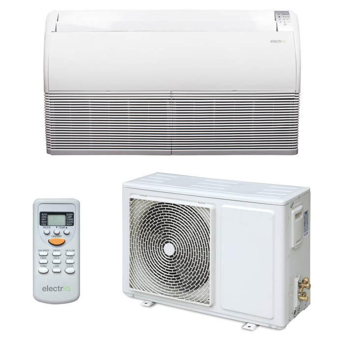 24000 BTU 7 1KW Floor Ceiling Wall mounted Air Conditioner with Heat Pump  and 5 years warranty