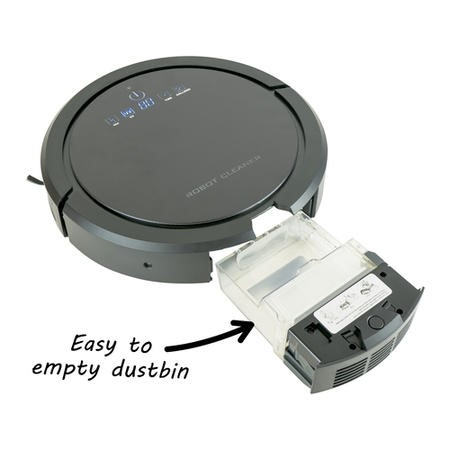 electriQ eiQ-R900M Pet Robot Vacuum Cleaner with Wet Mop & HEPA Filter