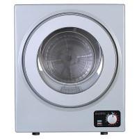 electriQ 2.5kg Freestanding Vented Tumble Dryer - Silver