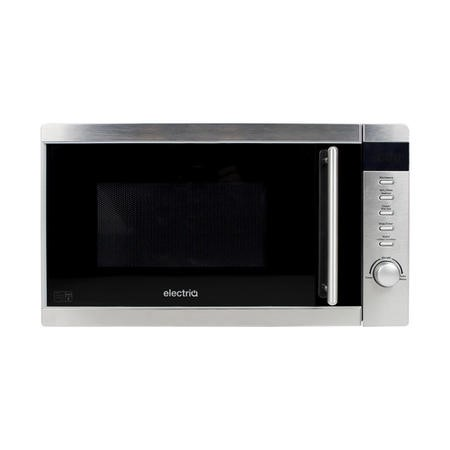 electriQ 20L 800W Freestanding Microwave with Digital Display in Stainless Steel - EIQMW20LSS