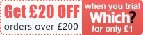 Get £20 off your order over £200