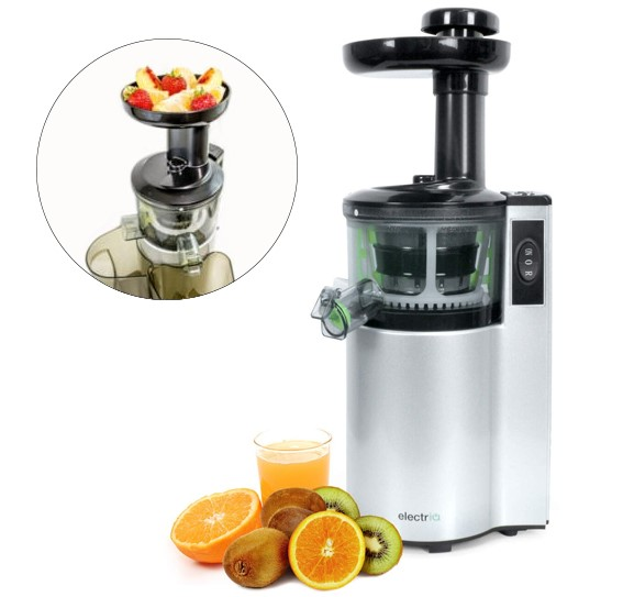 ElectriQ Premium Cold Pressed Vertical Slow Juicer and Smoothie Maker