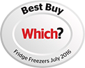 Which? Best Buy Fridge Freezer - July 2016