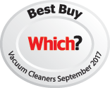 Which? Best Buy Vacuum Cleaner Sept 2017