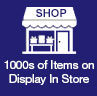 100s of Items Display In Store