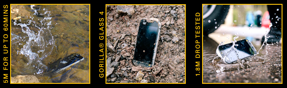CAT S60 thermal rugged features