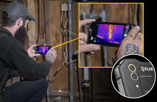 CAT S60 thermal imaging