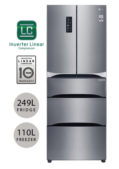 LG GB6140PZQV fridge freezer