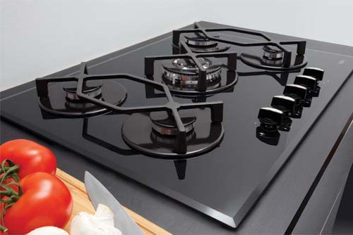 HVG720BL hob close up