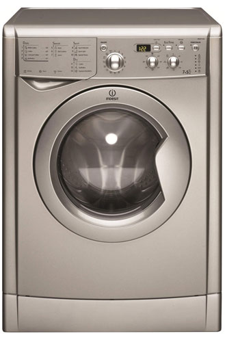 Indesit EcoTime washer dryer silver