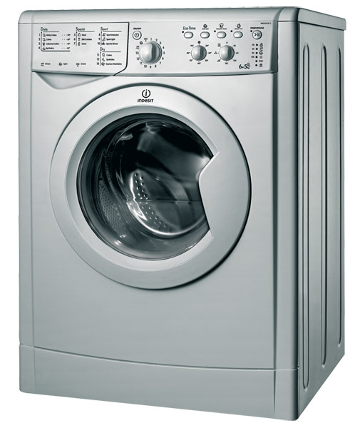 indesit iwdc6125s 6kg wash 5kg dry 1200rpm freestanding washer dryer silver appliances direct. Black Bedroom Furniture Sets. Home Design Ideas