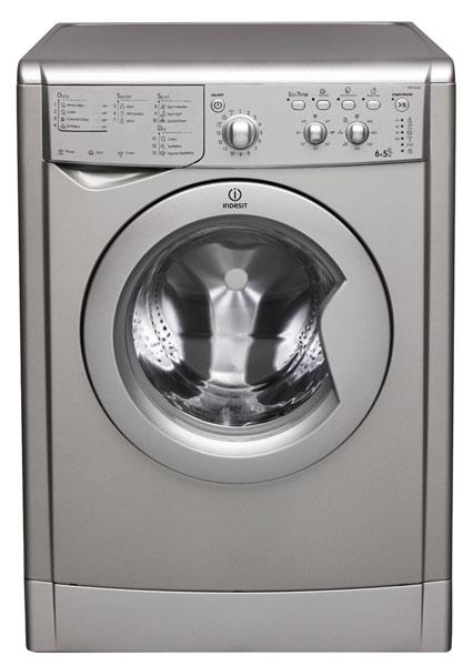 indesit iwdc6125s 6kg wash 5kg dry 1200rpm freestanding washer dryer silver appliances direct. Black Bedroom Furniture Sets. Home Design Ideas