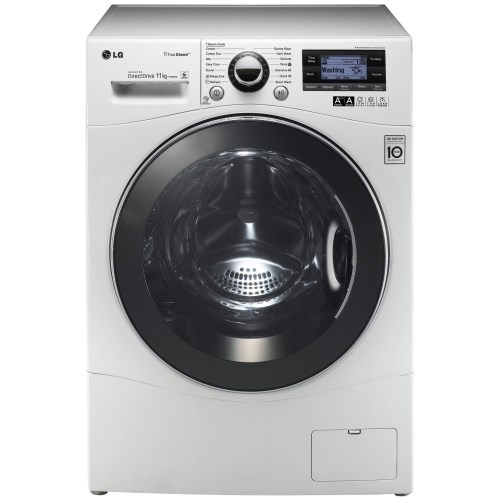 Lg f1495kds steam direct drive 11kg 1400rpm freestanding for Direct drive motor washing machine