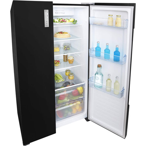 Fridgemaster MS91518FFB American Side-by-Side Fridge Freezer