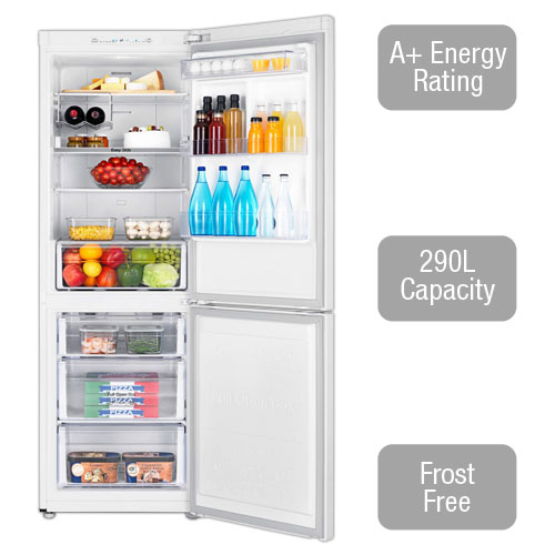 RB29FSRNDWW Fridge Freezer with A+ energy rating