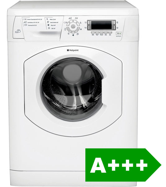 Hotpoint WMAO743P 7kg washing machine with A+++ energy efficiency rating