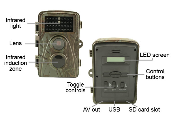 electriQ wildlife camera easy-to-use