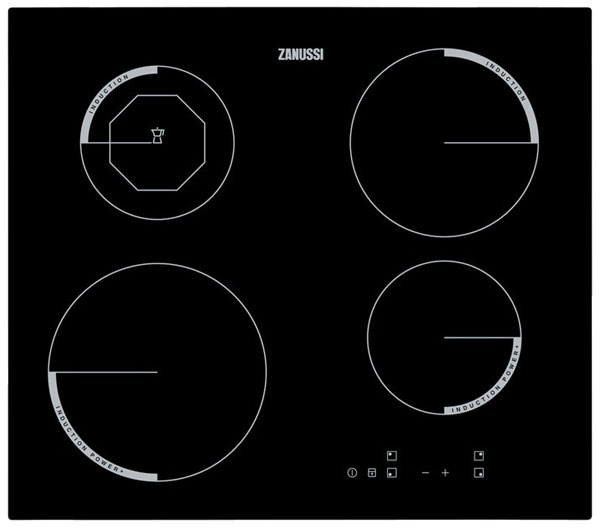 Zanussi ZEI6840FBA inuction hob with ceramic glass surface