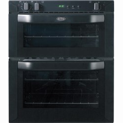 BI70FP Built-under Electric Double Oven in Black