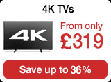 4k TVS from 319